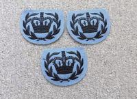 Britská nášivka koruna modrá