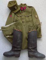Kompletní uniforma Československého legionáře v Rusku