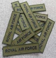 Nášivka zelená Royal Air Force