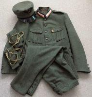 Kompletní uniforma Československého legionáře v Itálii
