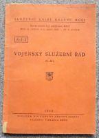 Vojenský služební řád II. díl