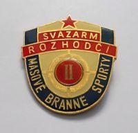 Svazarm rozhodčí II. masové branné sporty