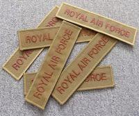 Nášivka béžová Royal Air Force