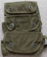 U.S. 3 Pocket Grenade Pouch 1967