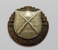 Stříbrný odznak pro střelce z pušky
