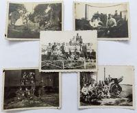 5x foto vojáci 1. republika